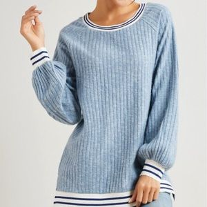 Simple by Suzanne Betro balloon sleeve top 1X